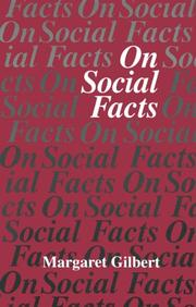 Cover of: On social facts