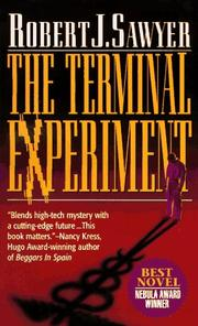 Cover of: The Terminal Experiment