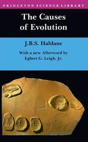 Cover of: The causes of evolution