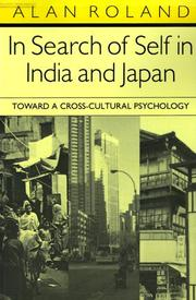 Cover of: In search of self in India and Japan