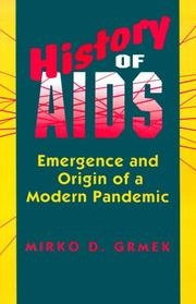 Cover of: History of AIDS