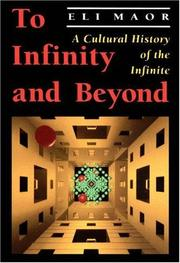 Cover of: To infinity and beyond | Eli Maor
