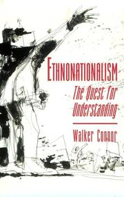 Cover of: Ethnonationalism | Walker Connor