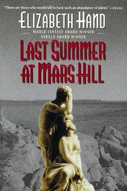 Cover of: Last summer at Mars Hill