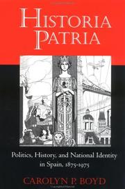 Cover of: Historia patria