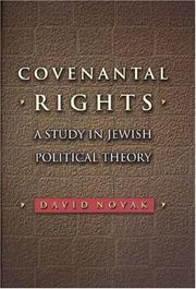 Cover of: Covenantal rights | David Novak