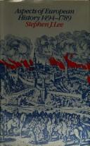 Cover of: Aspects of European history, 1494-1789