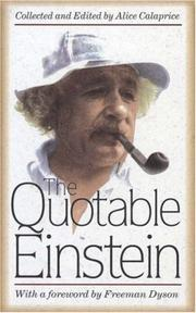 The quotable Einstein