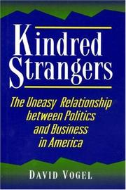 Cover of: Kindred strangers | David Vogel