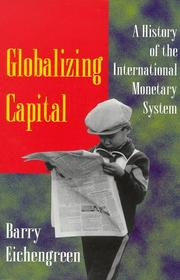 Cover of: Globalizing capital