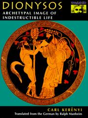 Cover of: Dionysos