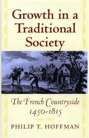 Cover of: Growth in a Traditional Society