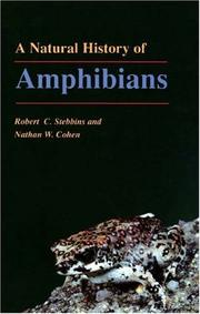 Cover of: A natural history of amphibians | Robert C. Stebbins