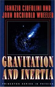 Cover of: Gravitation and inertia