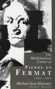 The Mathematical Career of Pierre de Fermat, 1601-1665: Second Edition
