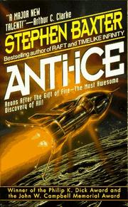 Cover of: Anti-Ice