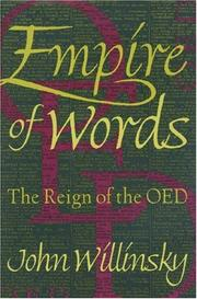 Cover of: Empire of words: the reign of the OED