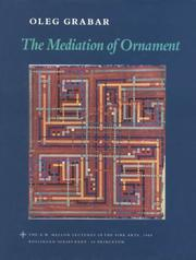 The mediation of ornament by Oleg Grabar