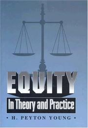 Cover of: Equity | H. Peyton Young