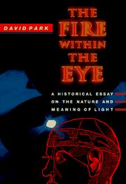 Cover of: The fire within the eye | David Allen Park