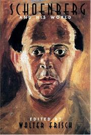 Cover of: Schoenberg and His World
