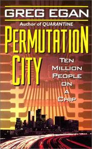 Cover of: Permutation city: Greg Egan.