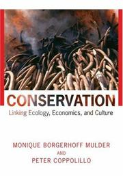 Conservation by Monique Borgerhoff Mulder, Peter Coppolillo