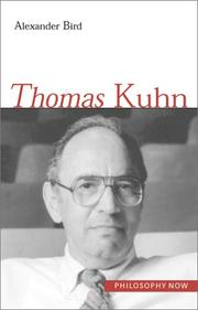 Cover of: Thomas Kuhn. | Alexander Bird