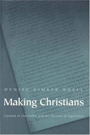 Cover of: Making Christians
