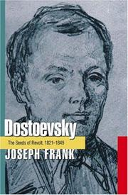 Cover of: Dostoevsky | Joseph Frank