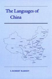 Cover of: The languages of China