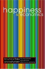 Cover of: Happiness and economics by