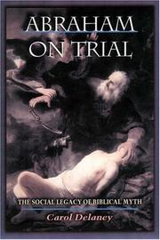 Cover of: Abraham on Trial | Carol Delaney