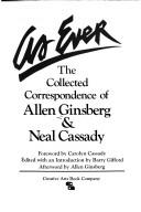Cover of: As Ever, Collected Correspondence of Allen Ginsberg and Neal Cassady