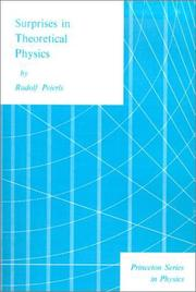 Cover of: Surprises in theoretical physics