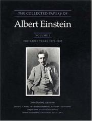 Cover of: The collected papers of Albert Einstein: writings,1909-1911