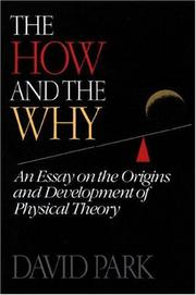 Cover of: The how and the why
