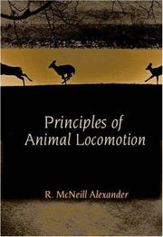 Cover of: Principles of Animal Locomotion | R. McNeill Alexander