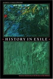 Cover of: History in Exile | Pamela Ballinger