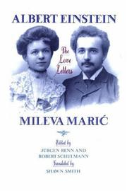 Cover of: Albert Einstein/Mileva Marić--the love letters | Albert Einstein