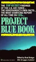 Cover of: Project Blue Book | Brad Steiger