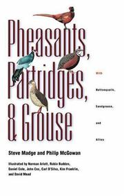 Cover of: Pheasants, Partridges, and Grouse  | Tami Davis Biddle