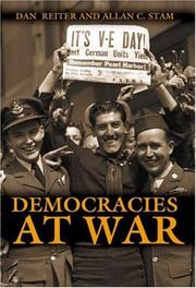 Cover of: Democracies at war |