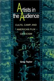 Cover of: Artists in the Audience | Greg Taylor