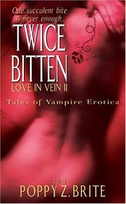 Cover of: Love in Vein II  | Poppy Z. Brite