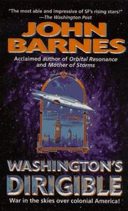 Cover of: Washington's Dirigible (Timeline Wars/John Barnes, No 2)
