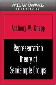 Representation Theory of Semisimple Groups: An Overview Based on Examples (PMS-36)