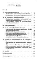 Cover of: Imperialismustheorien