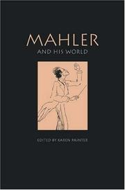 Cover of: Mahler and His World (Bard Music Festival) |