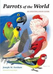 Cover of: Parrots of the world | Joseph Forshaw